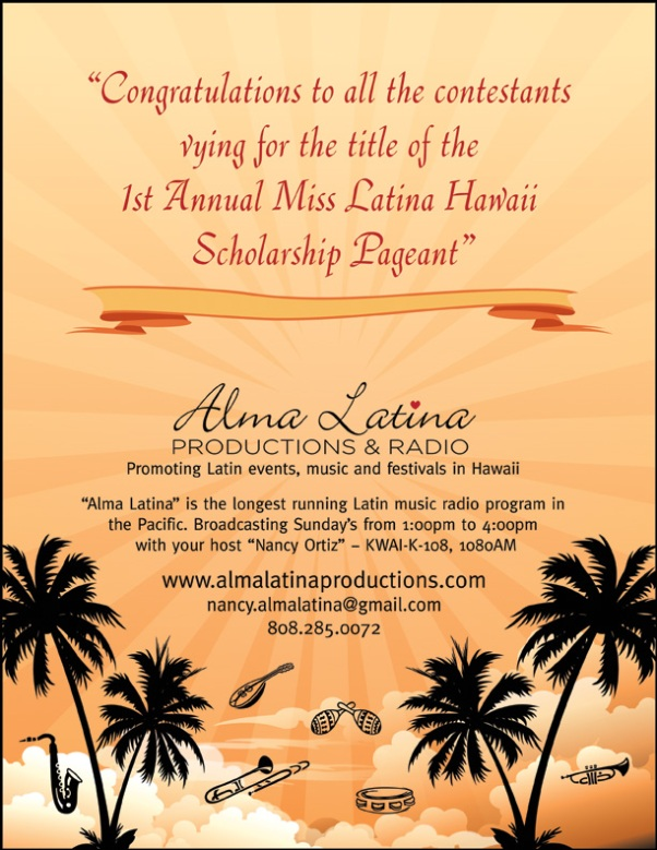 Miss Latina Hawaii pageant