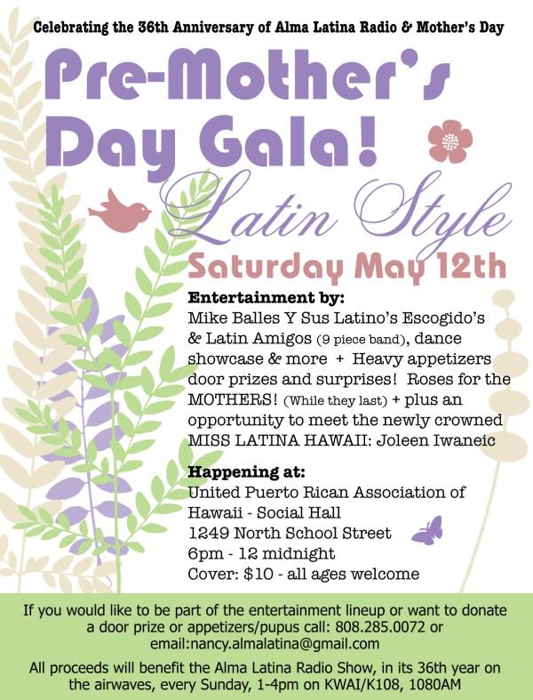 2012 Mothers Day Gala Honolulu