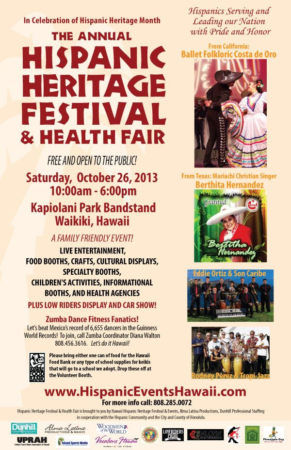 Hispanic Heritage Festival and Health Fair 2013