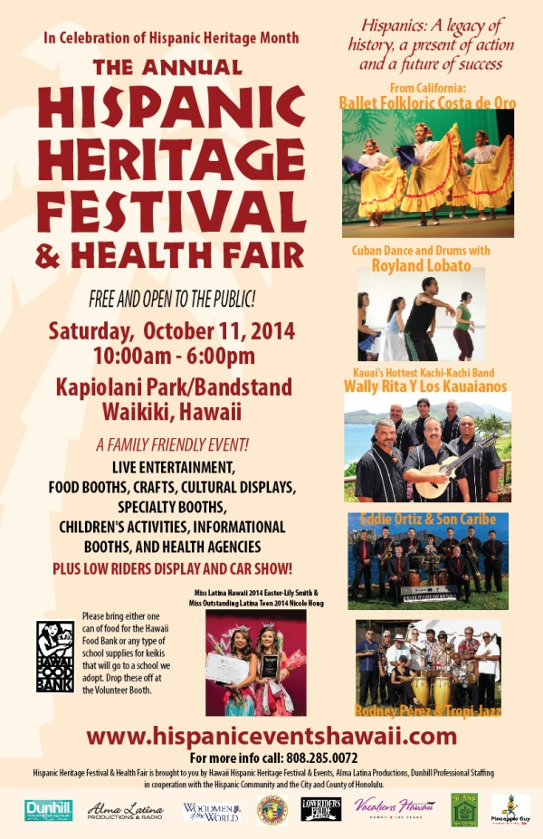 Hispanic Heritage Festival 2014