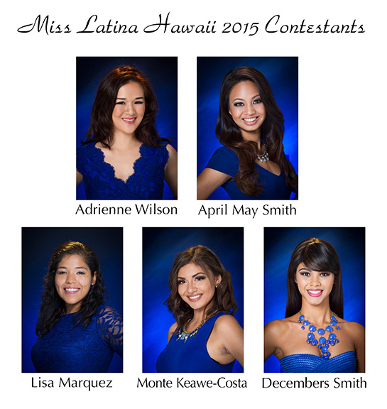 2015MissLatinaHawaii_contestants-web