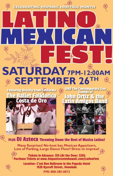 Latino-Mexican Fest Honolulu 2015