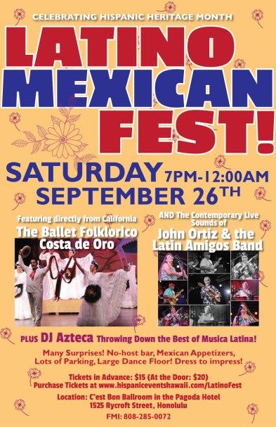 Latino-Mexican Fest Honolulu 2015