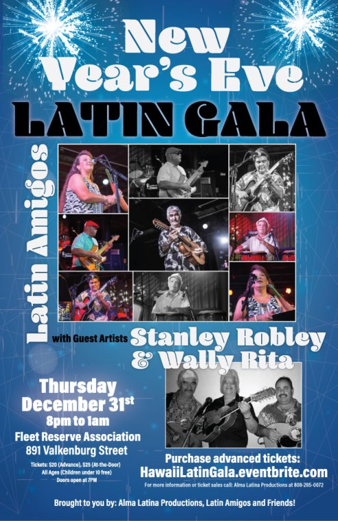 NYE Latin Gala with Latin Amigos